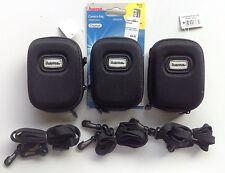 3x Hama Digital Camera Hardcase Bags - NEW