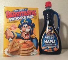 Capn Crunch Berrytastic Pancake Mix & Ocean Blue Maple Syrup Combo