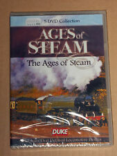 Ages Of Steam Box 5 DVD COLLECTION Set  new FREE  POST