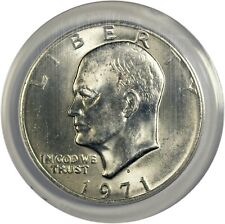1971-D EISENHOWER IKE DOLLAR ANACS MS67 SCARCE SUPERB GEM 6205485