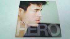 "ENRIQUE IGLESIAS ""HERO"" CD SINGLE 2 TRACKS"