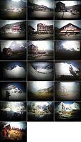 Dias Privat-40 Fotos Alpen-KL.Scheidegg-Bahnhof-Hotel-Landsch aus den1980.Jahren