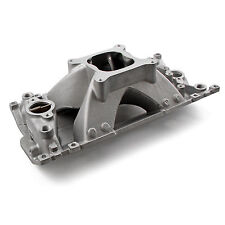 SBC Small Block Chevy Vortec Aluminum Intake 350 Shoot Out Series High Rise