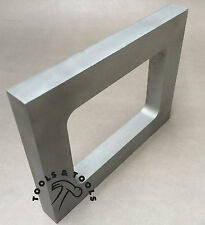 "ALUMINUM MOLD FRAME SINGLE CAVITY VULCANIZER RUBBER SIZE 4-3/8"" x 5-5/8"" CASTING"