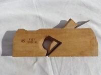 Vtg Soviet Rabbet Plane Skewed Iron Wood Smoothing Blade USSR Shoulder Hand Tool