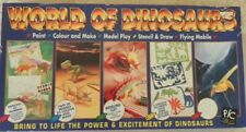 Vintage The World of Dinosaurs Craft Creative play activities set