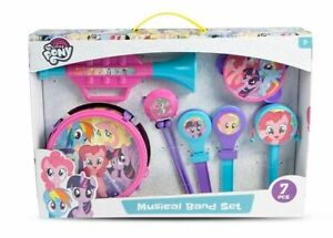 NEW MY LITTLE PONY TOY KIDS MUSICAL BAND SET 1383832 MUSICAL INSTRUMENT