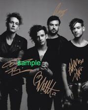 THE 1975 BAND REPRINT 8X10 AUTOGRAPHED SIGNED PHOTO PICTURE COLLECTIBLE RP