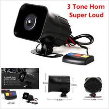 Motorcycle Siren Horn 12V 30W Ultra Sound Waterproof Multi Tone Loud Alarm Horn
