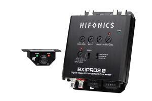 Hifonics BXIPRO3.0 Digital Bass Processor w/ Noise Reduction + Remote