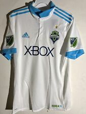 Adidas Authentic MLS Jersey Seattle Sounders Team White Alt sz L