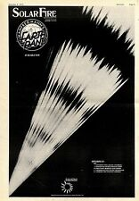 (Sds)8/12/1973Pg5 Album Advert 15x10 Manfred Mann's Earth Band - Solar Fire (tou
