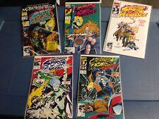 Marvel Comics Spirits of Vengeance lot Ghost Rider, Johnny Blaze, Venom '90's