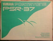 YAMAHA PSR-37 KEYBOARD USERS MANUAL