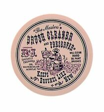 The Masters Brush Cleaner and Preserver - 2.5oz 75g Pot