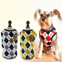 New Fashion Coral Fleece Dog Vest Large Dog Cat T-shirt Coat Pet Clothing XS-6XL