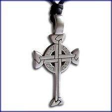 Celtic Croce di Ferro Catene rimorchio IRON CROSS Celti Gioielli Rimorchio Gothic