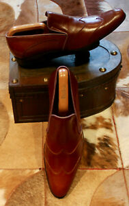 BNWOB ZILLI Brown Loafers - UK7