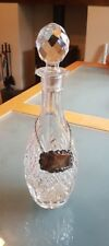 Vintage decanter with P.H.V Sherry tag