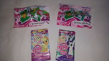 MY LITTLE PONY VINYL FIGURES & CARDS (4 ITEMS) BRAND NEW & SEALED CHEAP !!!!!