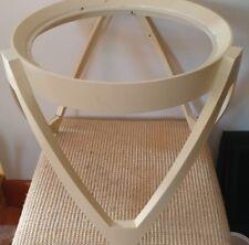 Amazing  Mid Century Modern Plastic Patio Side Table Base