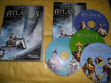 PC GAME-ATLANTIS EVOLUTION-4 CD-Computer-Gioco-Games-ITALIANO-ITA