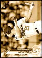Walker Buehler 2020 Topps Short Print Variations 5x7 Gold #432 /10 Dodgers