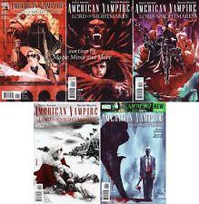 AMERICAN VAMPIRE Lord of Nightmares (5) Comic SET #1 2 3 4 5 1st print Snyder