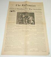 Munsonian Newspaper 1942 Muncie Indiana IN WW2 World War II Central High School