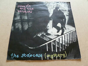 "Siouxsie and the Banshees,7"" Vinyl, Staircase Mystery (1979) Unplayed."