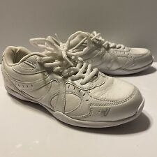 Very Gently Used White Varsity Side Line Last Pass Cheer Shoe/sz. 7