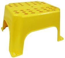 Plasterers - Safe Step,Step Up, Hop Up, Work Platform, Yellow Step Stool