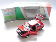 Volkswagen VW Golf Mk II 2 GTi in rot rouge roja rosso red, Schabak 1:43 boxed!