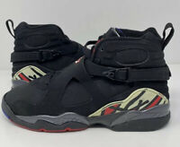 Nike Air Jordan 8 VIII Retro Playoff 2007 Size 7 Black Red White 305368-061 Rare