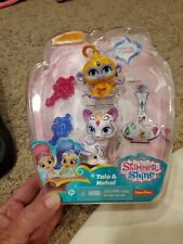 """Shimmer & Shine Tala & Nahal Figures ~2.25"""" New in Package Hard to Find"""
