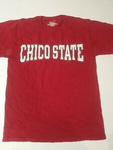 CHICO STATE Gear For Sports T Shirt Maroon Size S USA