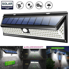 Sensor Light Waterproof 118LED Solar Powered Lamp Outdoor Garden Yard PIR Motion