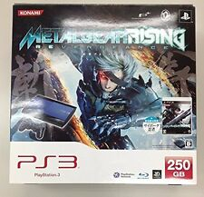 PS3 Metal Gear Solid Rising Console Playstation 3 Japan *GREAT COND - COMPLETE*