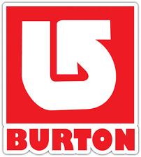 "Burton Snowboard Snowboards Car Bumper Window Sticker Decal 4""X5"""