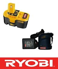 NEW RYOBI 18 V 18 VOLT NiCAD BATTERY AND CHARGER COMBO - P100 & P111