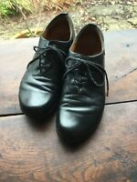 Think Mens Shoes Size 44. Black Leather Lace Up Gorgeous Good Condition