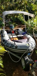 ZODIAC MARKIIC 3.8m inflatable boat with Motor and Trailer