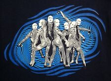 CIRQUE DU SOLEIL med O water circus T shirt Las Vegas tee 1990s Bellagio theater