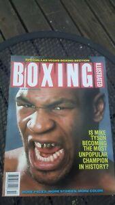 Boxing Illustrated Magazine. Oct. 1988. Mike Tyson.