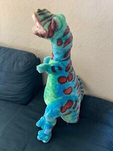 "36"" Jumbo Melissa And Doug Dinosaur Plush Stand Alone T-Rex"