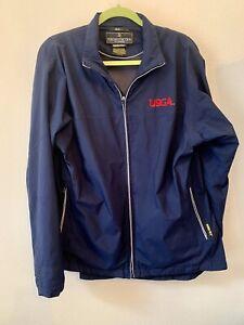 ZERO RESTRICTION Gore-Tex Full Zip Golf Jacket Women's Blue XL