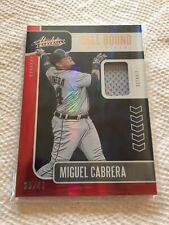 Miguel Cabrera 2020 Panini Absolute Hall Bound Relic 36/49