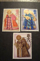 GB 1972 Commemorative Stamps~Christmas~Fine Used Set~UK Seller