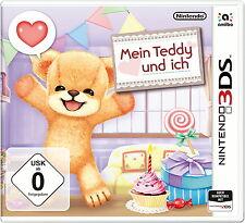 NEU OVP Mein Teddy und Ich 3D für Kinder Nintendo 3DS 2DS / XL Spiel