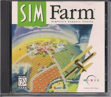 SIMCITY / SIM FARM PC GAME! WINDOWS/MAC! FREE SHIPPING! NEAR MINT!